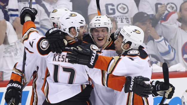 Ducks Rally for 5-4 OT Win Over Jets