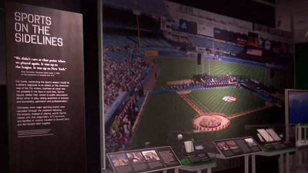 Exhibit Tackles Power of Sports After Sept. 11 Attacks