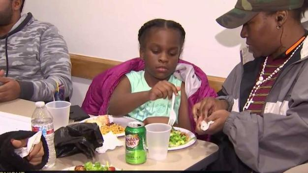 Families Displaced by NYC Fire Get Thanksgiving Meals
