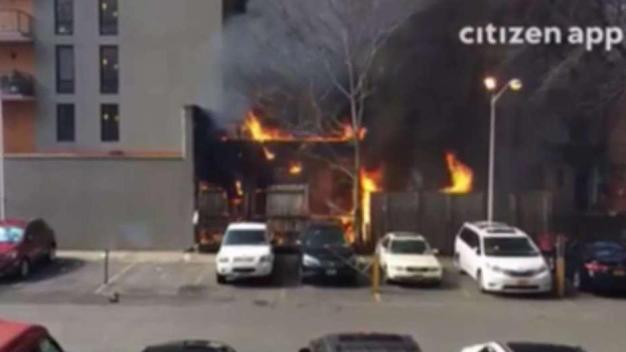 Fire Tears Through East Village Apartment