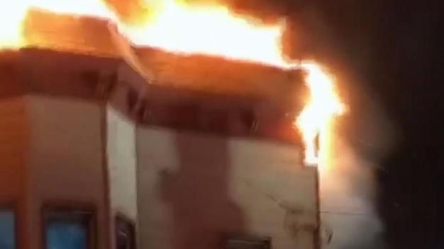 Apartment Fire in NYC Injures 3 People