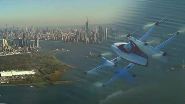 Flying Contraption Pitched as NJ-NYC Travel Alternative