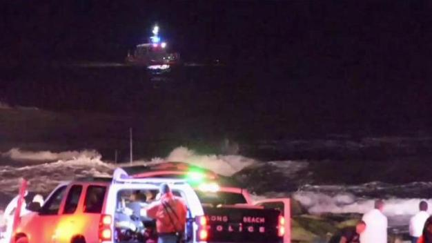 Frantic Search Underway for Missing NY Swimmer