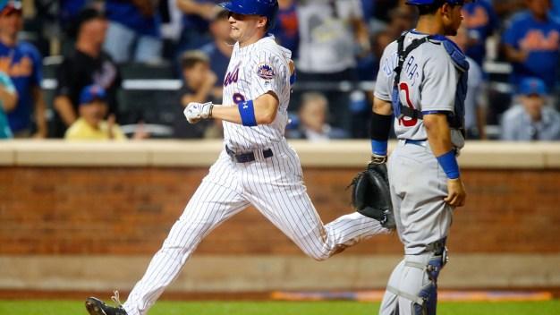 Mets Beat Cubs, 4-3