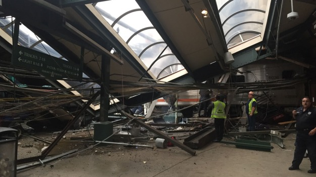 NTSB Investigates Cause of Hoboken Train Crash