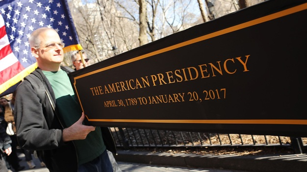 'Not My President's Day' Rally Planned for Columbus Circle