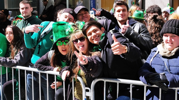 Luck o' the Irish Comes to Fifth Ave in St. Pat's Day Parade