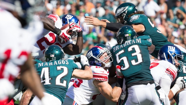 Giants Fall to Eagles, 27-24
