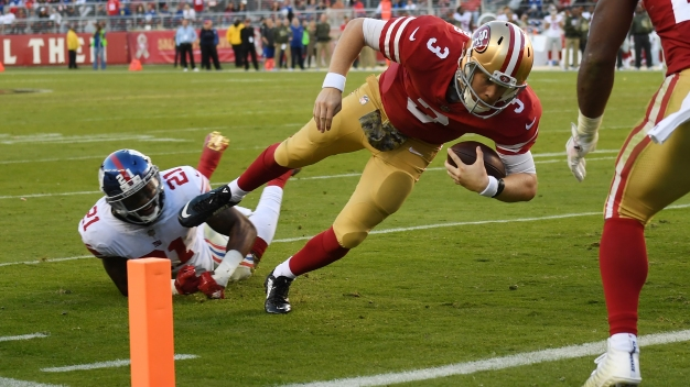 49ers Defeat Giants, 31-21