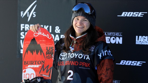 Kelly Clark Wins on Halfpipe to Seal Trip to 5th Olympics}