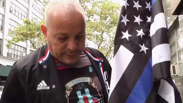 Ground Zero Cop Who Beat Cancer Pays Tribute on 9/11