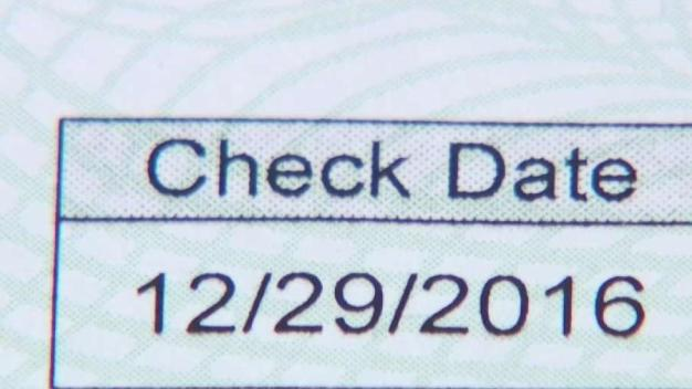 How to Cash Dated Checks}