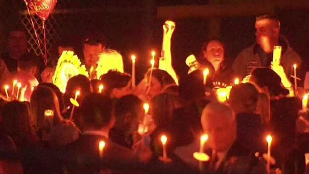 Hundreds at Vigil for Boy Killed in Freak Accident