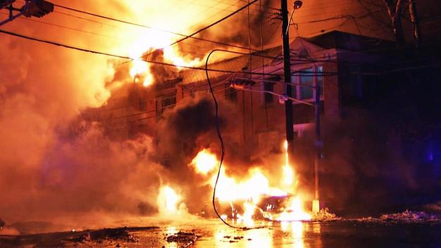 Inferno Devours Buildings in NJ