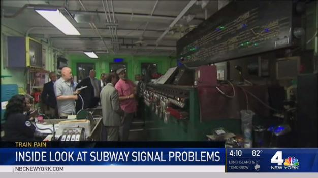 Inside Look at Subway Signal Failures