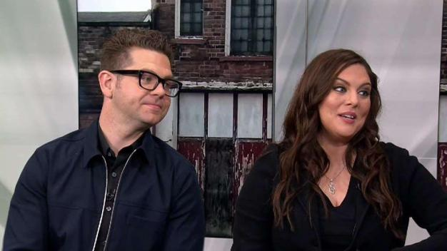 Jack Osbourne and Katrina Weidman on 'Portals to Hell'