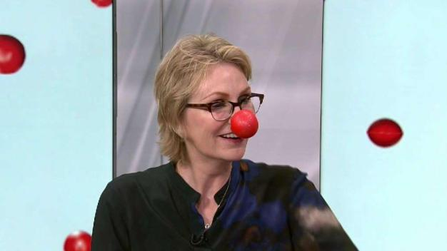 Jane Lynch on Red Nose Day Special
