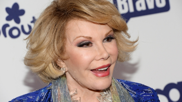 Joan Rivers Remains on Life Support