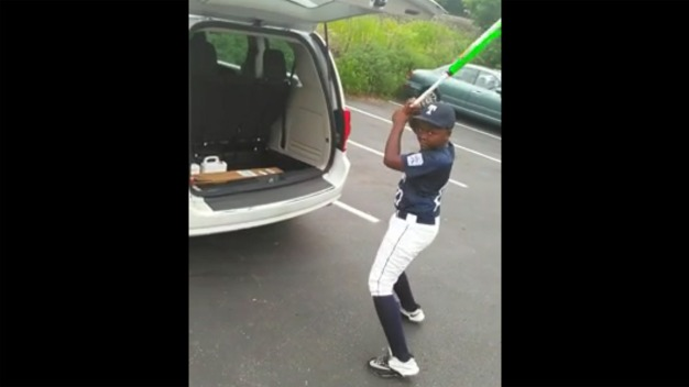 Little Leaguer Thinks Dad Forgot His Birthday, Cries When He Gets New Bat
