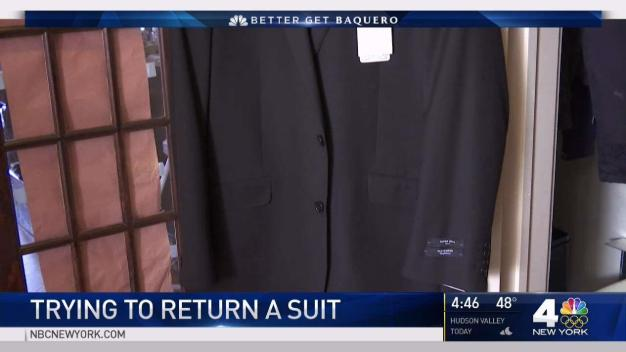 Man Allergic to Polyester Fights for Refund on Suit