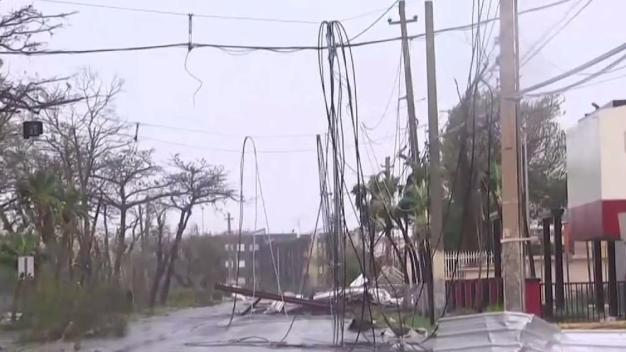 Maria Knocks out Power to Almost All of Puerto Rico