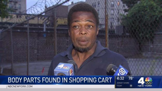 Men Describe Finding Human Head in Shopping Cart