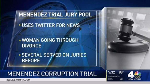 Menendez Corruption Trial Starts With Jury Selection