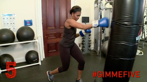Michelle Obama Packs a Punch With 5 Workout Tips