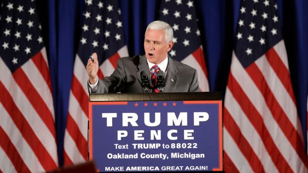 Pence Rallies in Michigan, Calls Trump 'Pro-Life'