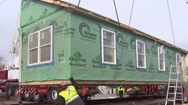 Modular Homes Aid Build it Back Efforts in NYC}