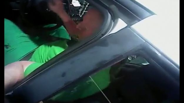 Body Camera Shows Wild High-Speed Chase
