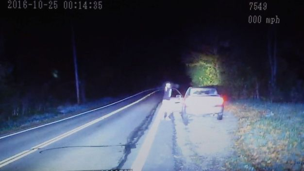 Dashcam Video Shows Ohio Shootout After High-Speed Chase