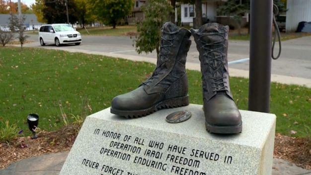 Fallen Soldier's War Memorial Vandalized