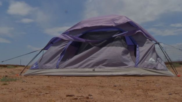 Parents Punish Teen By Making Him Live in a Tent