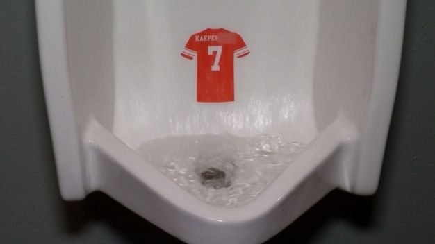 Urinal Stickers Target Kaepernick