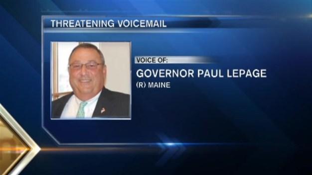 LISTEN: Maine Governor's Obscene Tirade