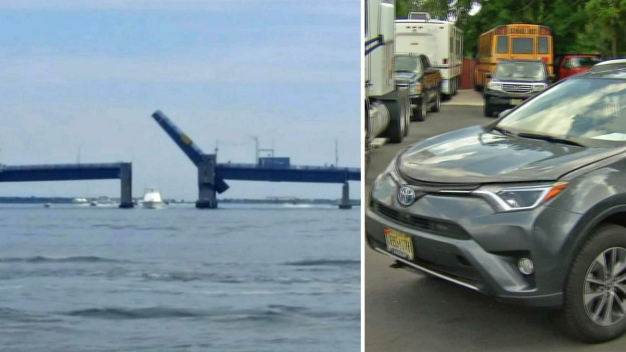 Family Forced to Jump Jersey Shore Drawbridge in Their RAV4