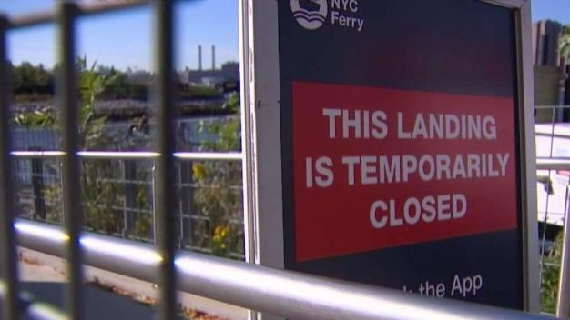 NYC Ferry Riders Frustrated Over Closed Dock in LIC