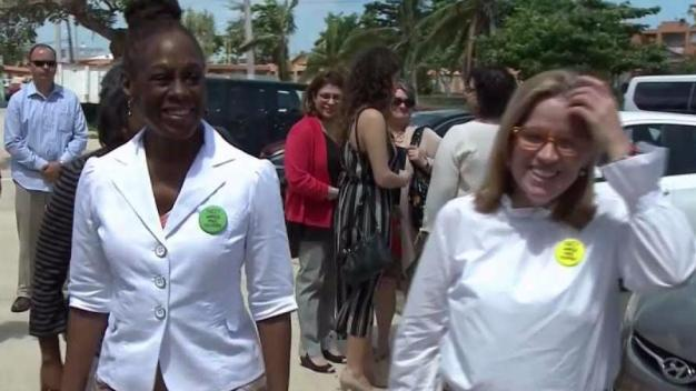 NYC First Lady Chirlane McCray Visits Puerto Rico