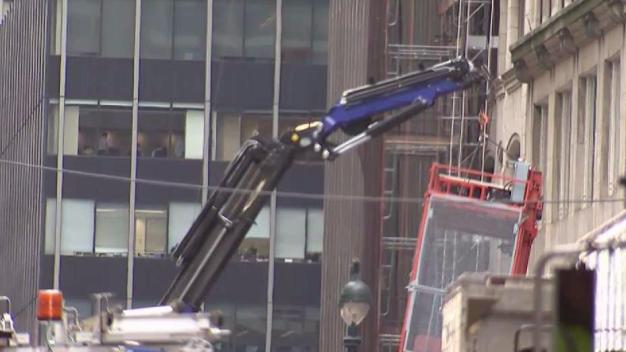 NYC On Lookout for Boom Trucks Being Used Improperly