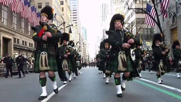NYC Merrymakers Celebrate 257th St. Patrick's Day Parade