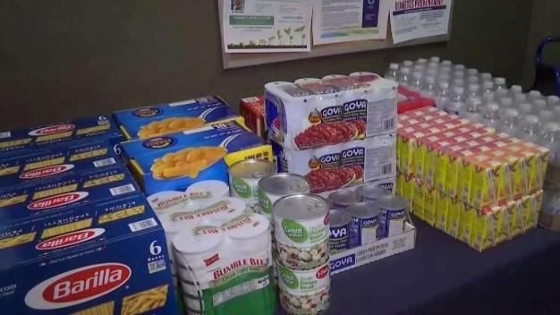 NY Hospital Stocks Shelves to Help Fight Hunger