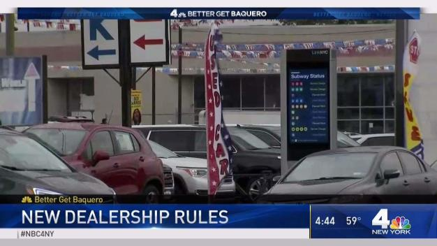 New Dealership Rules in New York City}