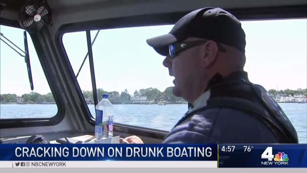 New Jersey Cops Crack Down on Drunken Boating