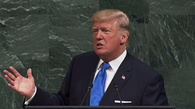 President Trump Holds Tough Talk at the UN