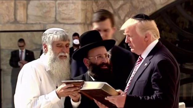 Ushery in Jerusalem as Trump Visits Holy Site in Israel