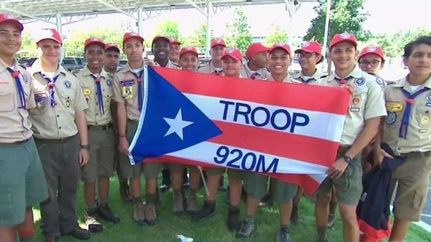 Puerto Rican Boy Scout Troop Explores NY and NJ