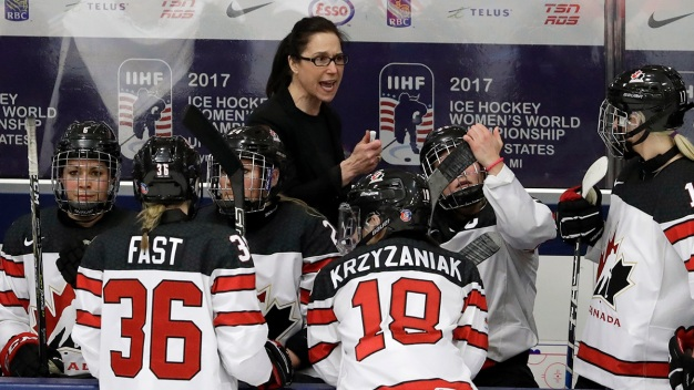 Canada Chasing 5th Straight Olympic Gold Under Former Player}