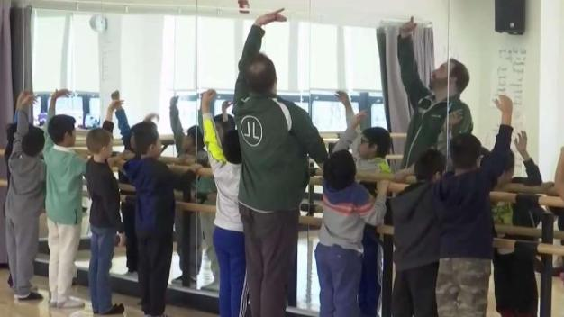 Queens Students Dancing With the Pros