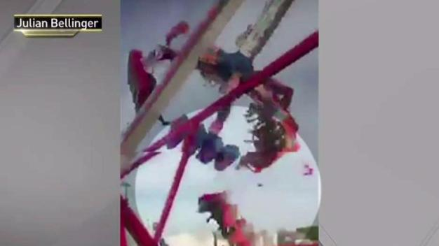 Watch: Killer Ride Breaks Apart, Sends Bodies Flying